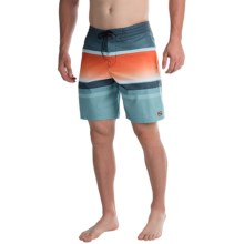 Billabong Spinner Lo Tides Striped Boardshorts (For Men) in Haze - Closeouts