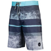 Billabong Spinner Motif Boardshorts (For Men) in Navy - Closeouts