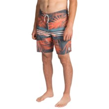 Billabong Spinner Palmdale Lo Tides Boardshorts (For Men) in Mango - Closeouts