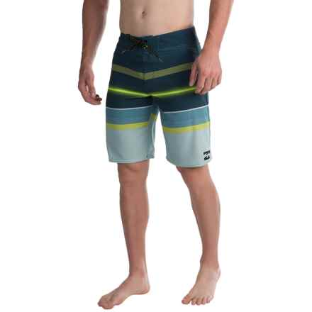 Billabong Spinner X Boardshorts (For Men) in Olive - Closeouts