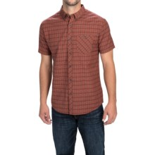 Billabong Steady Shirt - Button Front, Short Sleeve (For Men) in Red - Closeouts