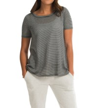 Billabong Take It In Shirt - Short Sleeve (For Women) in Black/White - Closeouts