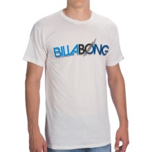 Billabong Thruster T-Shirt - Short Sleeve (For Men) in White - Closeouts