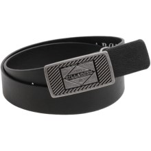 Billabong Trademark Belt (For Men) in Black - Closeouts