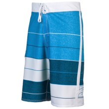 Billabong Triple Stack Boardshorts (For Men) in Blue - Closeouts