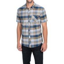 Billabong Vents Shirt - Short Sleeve (For Men) in Indigo - Closeouts