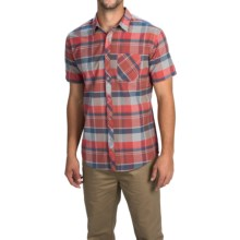 Billabong Vents Shirt - Short Sleeve (For Men) in Red - Closeouts
