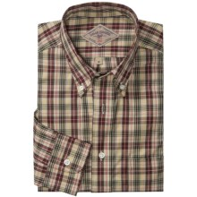 Bills Khakis Ancient Tartan Shirt - Long Sleeve (For Men) in Khaki - Overstock