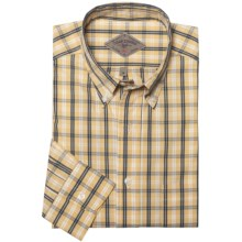 Bills Khakis Atlantic Plaid Shirt - Long Sleeve (For Men) in Sunstone - Closeouts