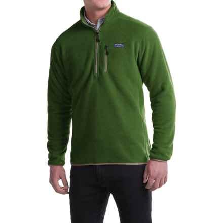 Bills Khakis Best Standard Issue Heavyweight Fleece Sweater - Zip Neck (For Men) in Green - Closeouts