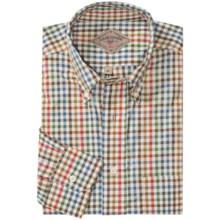 Bills Khakis Bradford Plaid Shirt - Long Sleeve (For Men) in Harvest/Green - Closeouts