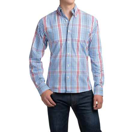 Bills Khakis Button-Front Shirt - Long Sleeve (For Men) in Blue - Closeouts