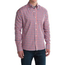 Bills Khakis Button-Front Shirt - Long Sleeve (For Men) in Red - Closeouts