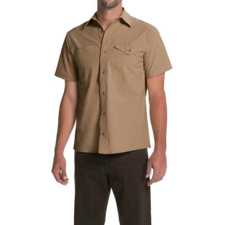 Bills Khakis Camp Shirt - Button Front, Short Sleeve (For Men) in Khaki - Closeouts