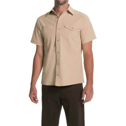 Bills Khakis Camp Shirt - Button Front, Short Sleeve (For Men) in Tan - Closeouts