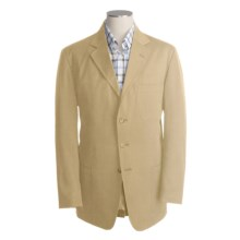 Bills Khakis Chamois Cloth Sport Coat (For Men) in Camel - Closeouts