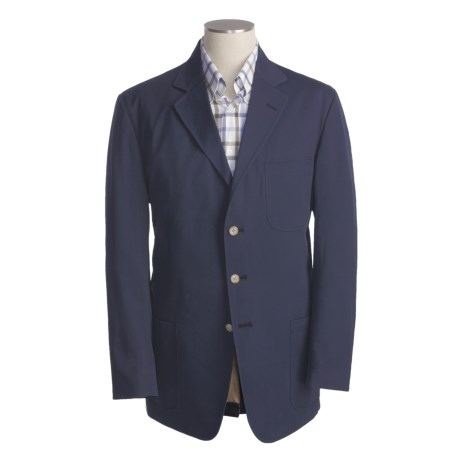 Bills Khakis Chamois Cloth Sport Coat (For Men) in Navy
