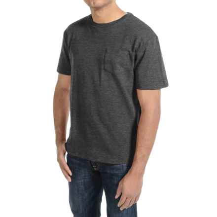 Bills Khakis Cotton Slub T-Shirt - Short Sleeve (For Men) in Charcoal Heather - Closeouts