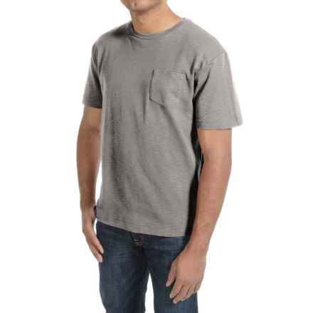 Bills Khakis Cotton Slub T-Shirt - Short Sleeve (For Men) in Heather Grey - Closeouts