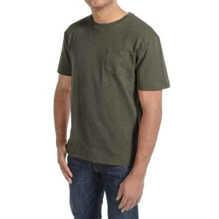Bills Khakis Cotton Slub T-Shirt - Short Sleeve (For Men) in Olive - Closeouts