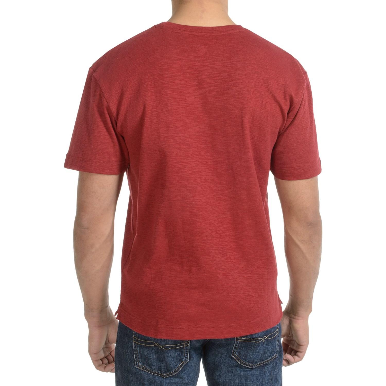 Bills khakis cotton slub t shirt for men for What is a slub shirt