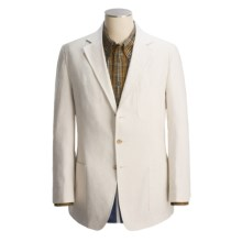 Bills Khakis Essex Stripe Sport Coat (For Men) in Cream/Navy - Closeouts