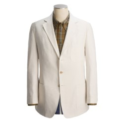 Bills Khakis Essex Stripe Sport Coat (For Men) in Cream/Navy