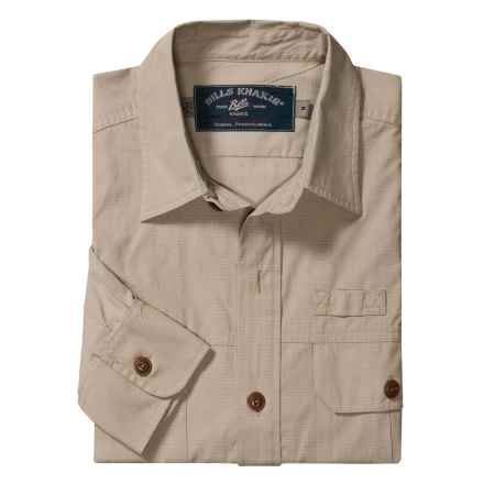 Bills Khakis Field Shirt - Ripstop, Long Sleeve (For Men) in Khaki - Closeouts