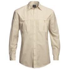Bills Khakis Flyweight Fishing Shirt - Cotton, Long Sleeve (For Men) in Stonefly - Closeouts