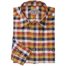 Bills Khakis Fullerton Plaid Shirt - Flannel, Long Sleeve (For Men) in Harvest - Closeouts