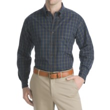 Bills Khakis Harrison Plaids Shirt - Long Sleeve (For Men) in Navy - Closeouts