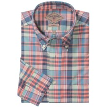 Bills Khakis Heirloom Madras Plaid Shirt - Button-Down Collar, Long Sleeve (For Men) in Coral Blue - Closeouts