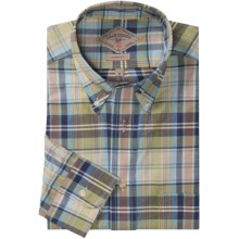 Bills Khakis Heirloom Madras Plaid Shirt - Button-Down Collar, Long Sleeve (For Men) in Sage Blue - Closeouts