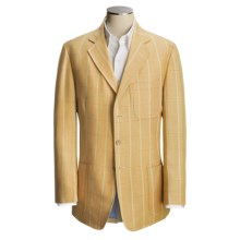 Bills Khakis Linen-Cotton Sport Coat (For Men) in Wicker Windowpane - Closeouts