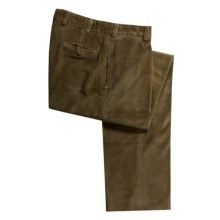 Bills Khakis M1 6-Wale Corduroy Pants - Flat Front, Relaxed Fit (For Men) in Olive - Closeouts