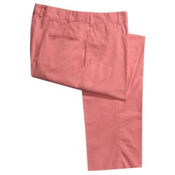 Bills Khakis M1 Cotton Poplin Pants - Flat Front (For Men) in Weathered Red