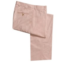 Bills Khakis M1 Original Hampton Twill Pants - Flat Front (For Men) in Dusty Rose - Closeouts