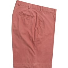 Bills Khakis M1 Shorts - Cotton Poplin, Plain Front (For Men) in Weathered Red - Closeouts