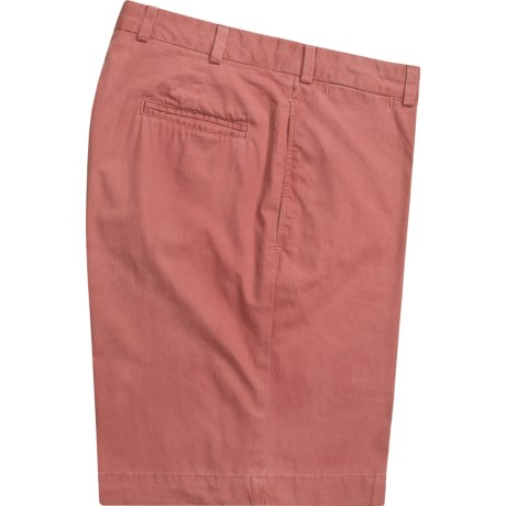 Bills Khakis M1 Shorts - Cotton Poplin, Plain Front (For Men) in Weathered Red