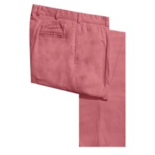 Bills Khakis M1P Cotton Poplin Pants - Pleated (For Men) in Weathered Red - Closeouts