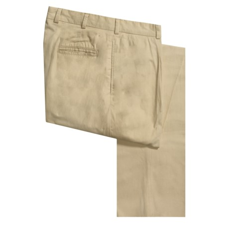 Bills Khakis M1P Cotton Poplin Pants - Pleated (For Men) in Wicker