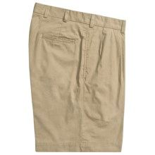Bills Khakis M1P Pleated Shorts - Cotton Poplin (For Men) in Wicker - Closeouts