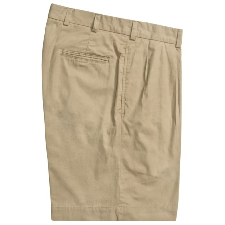 Bills Khakis M1P Pleated Shorts - Cotton Poplin (For Men) in Wicker