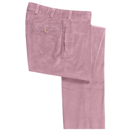 Bills Khakis M2 6-Wale Corduroy Pants - Flat Front (For Men) in Clover