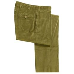 Bills Khakis M2 6-Wale Corduroy Pants - Flat Front (For Men) in Loganberry