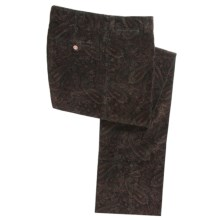 Bills Khakis M2 Alternative Corduroy Pants - Flat Front (For Men) in Paisley - Closeouts