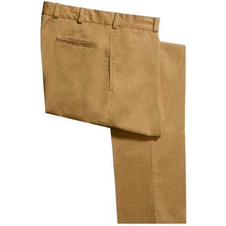 Bills Khakis M2 Chamois Cloth Pants - Flat Front (For Men) in British Khaki