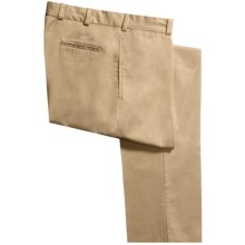 Bills Khakis M2 Chamois Cloth Pants - Flat Front (For Men) in Camel - Closeouts