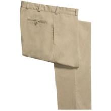 Bills Khakis M2 Chamois Cloth Pants - Flat Front (For Men) in Khaki - Closeouts