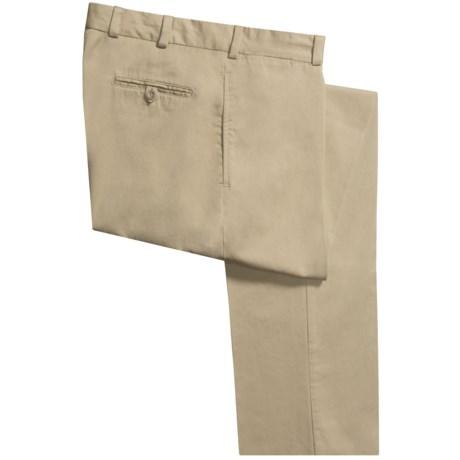 Bills Khakis M2 Chamois Cloth Pants - Flat Front (For Men) in Khaki